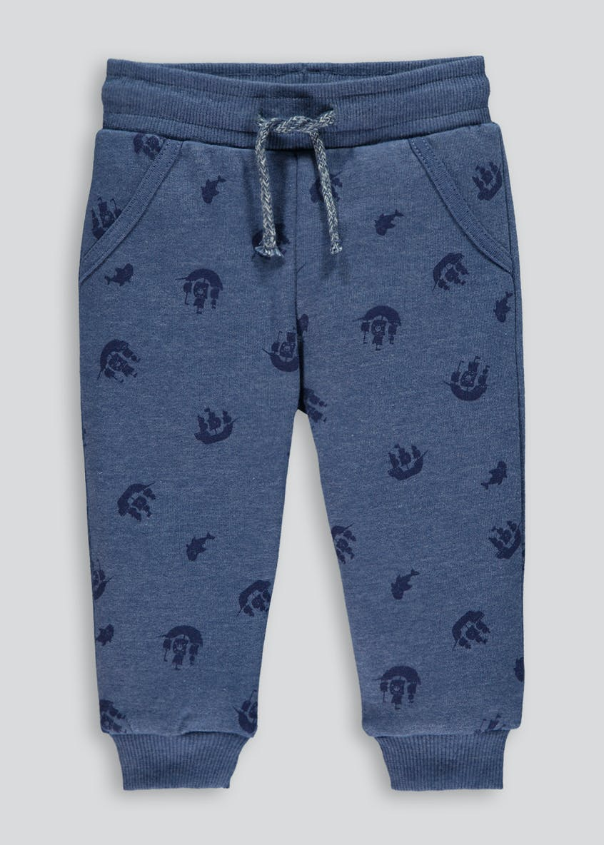 Boys Boat Print Jogging Bottoms (9mths-6yrs)