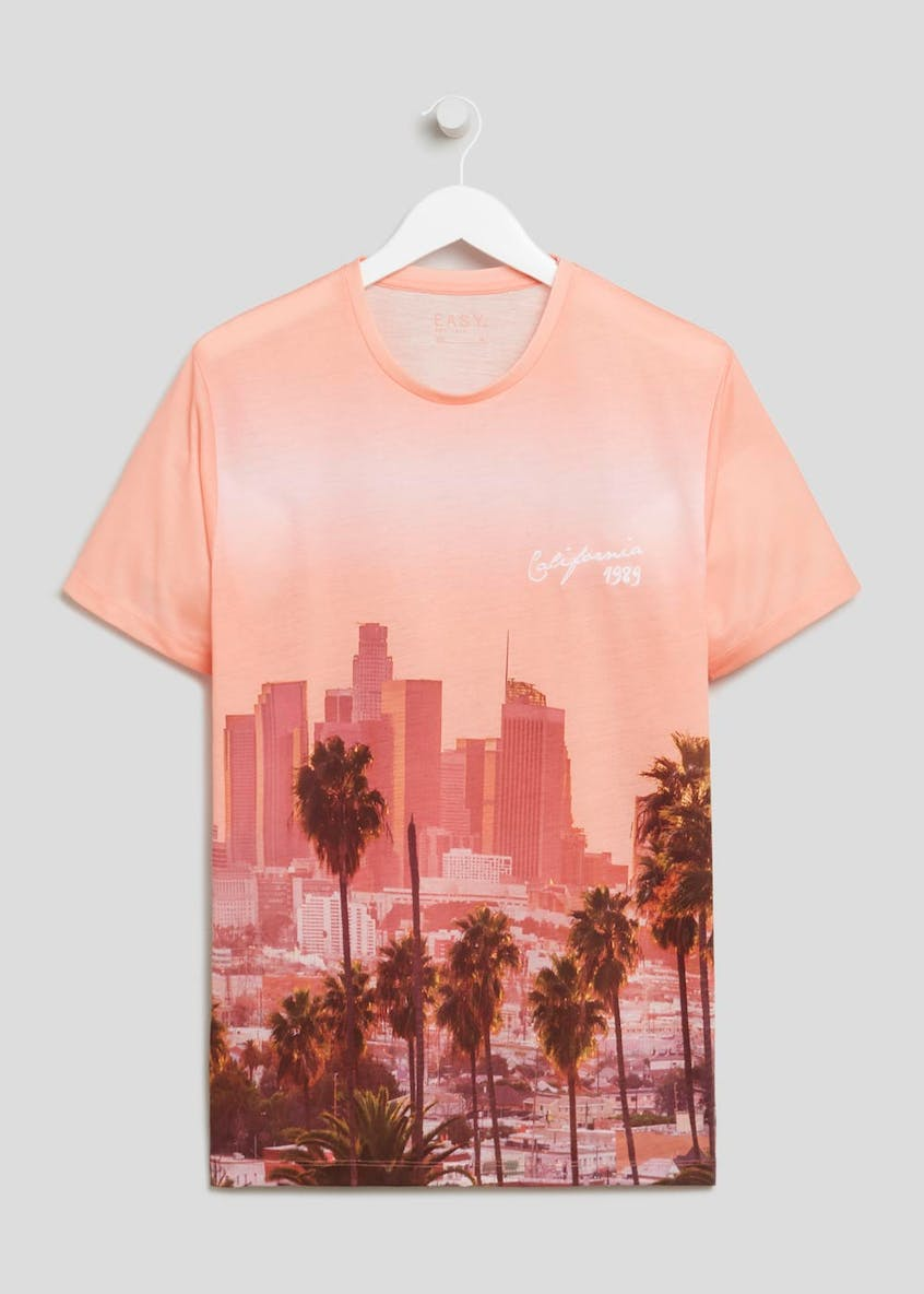 California Sublimation Print T-Shirt