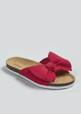 Bow Footbed Sandals