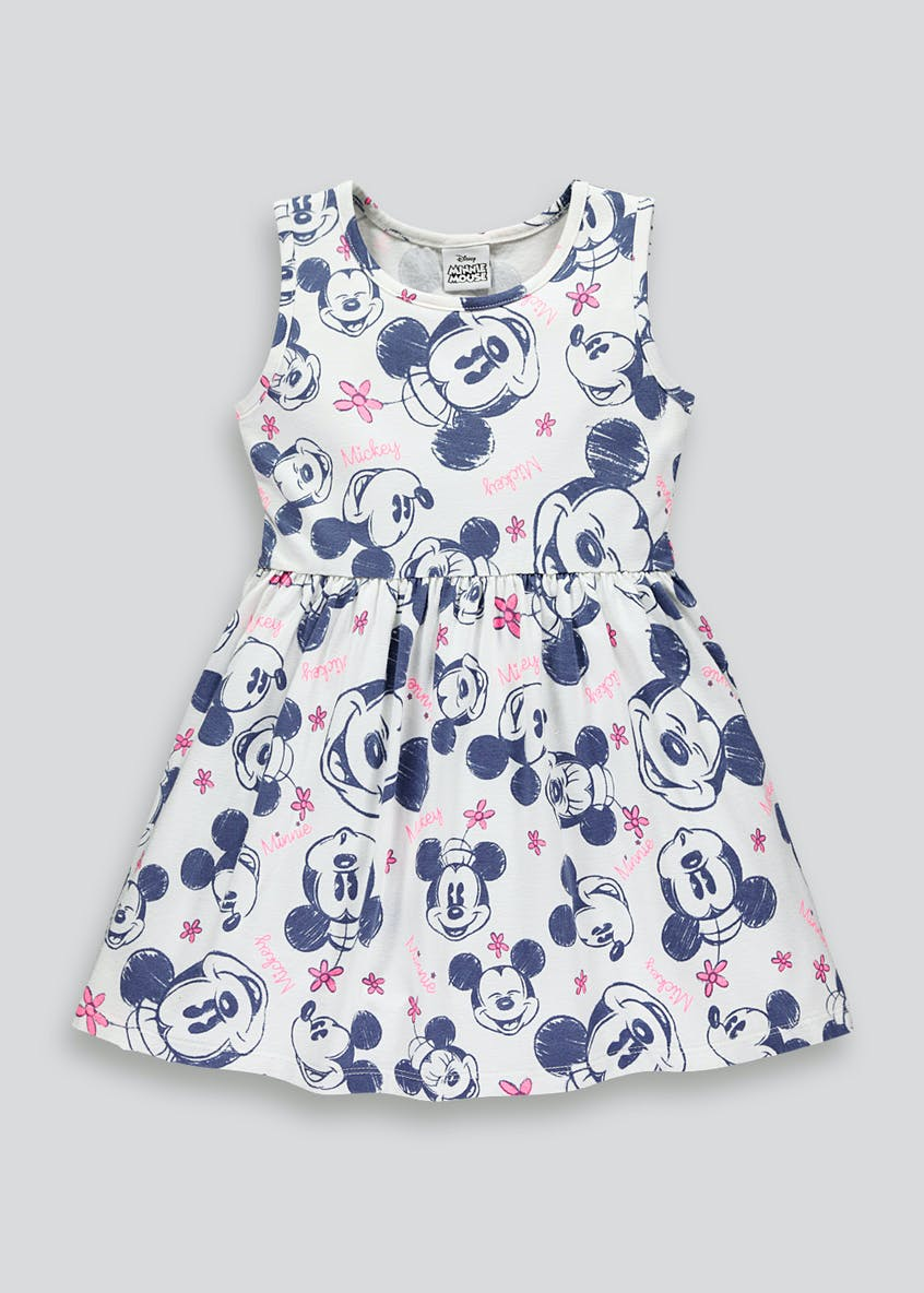 Girls Disney Minnie Mouse Dress (9mths-7yrs)