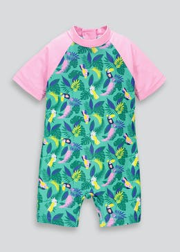 Kids Tropical Surf Suit (3mths-6yrs)