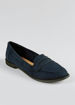 Suedette Loafers