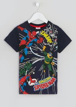 14e9dff6 Kids Spider-Man T-Shirt (12mths-7yrs). 100% Cotton