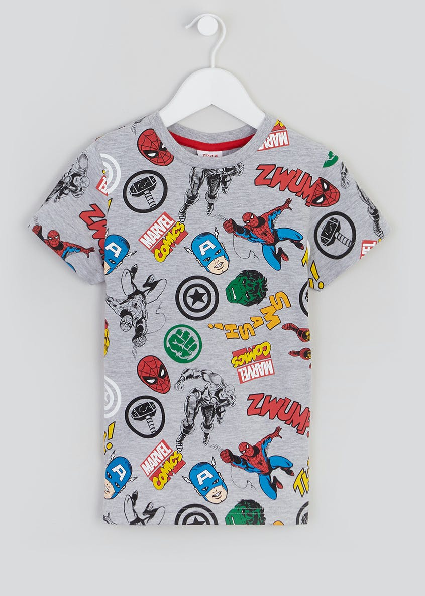 Kids Marvel T-Shirt (12mths-7yrs)