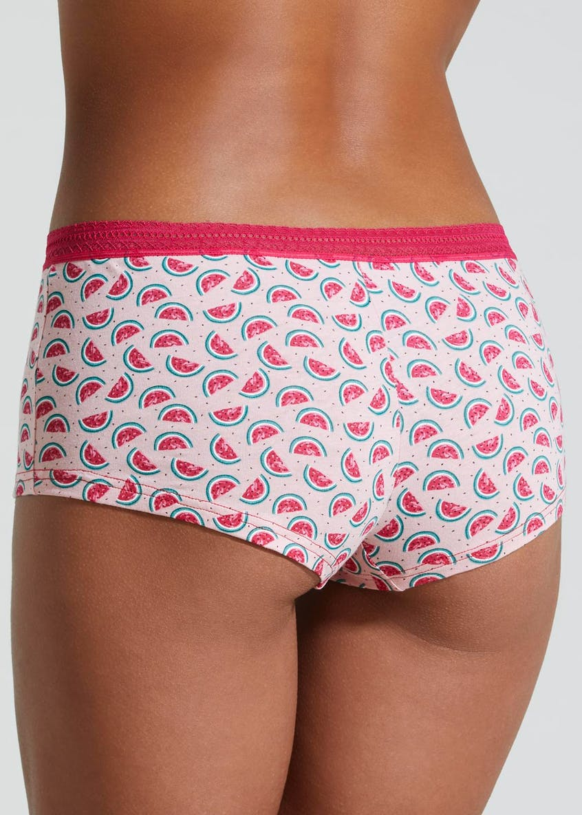 Watermelon Boxer Short Knickers