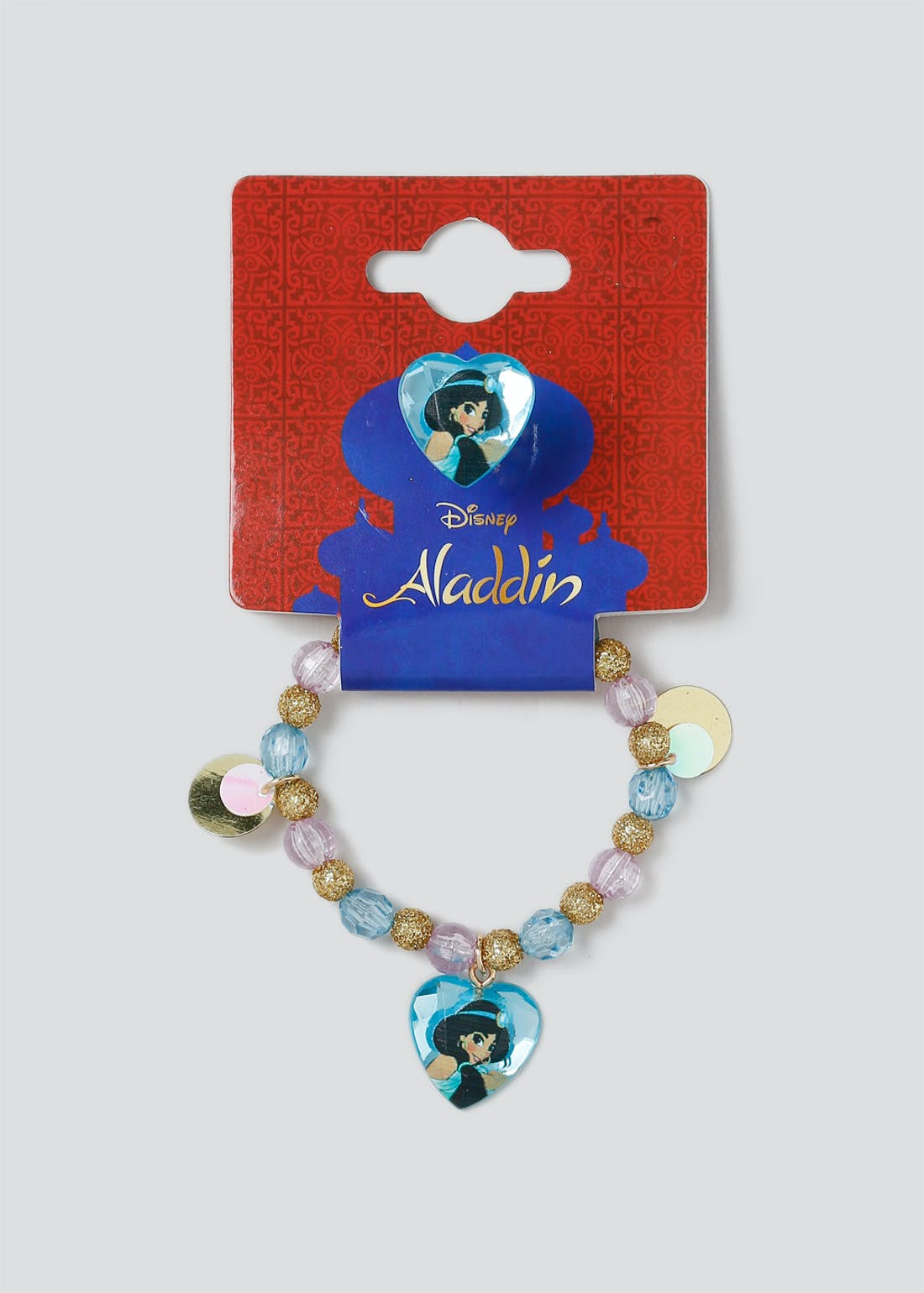 Girls Disney Aladdin Wristwear and Ring Set