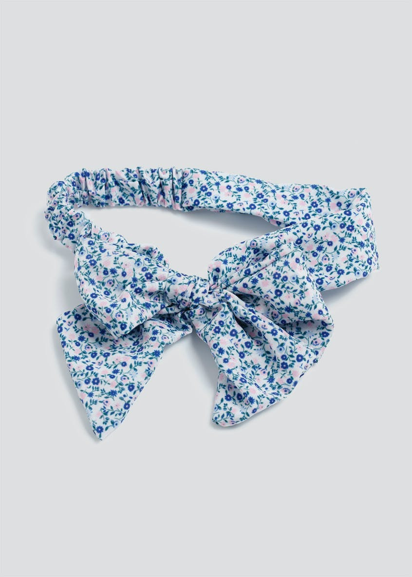 Girls Flower Bow Bandeau