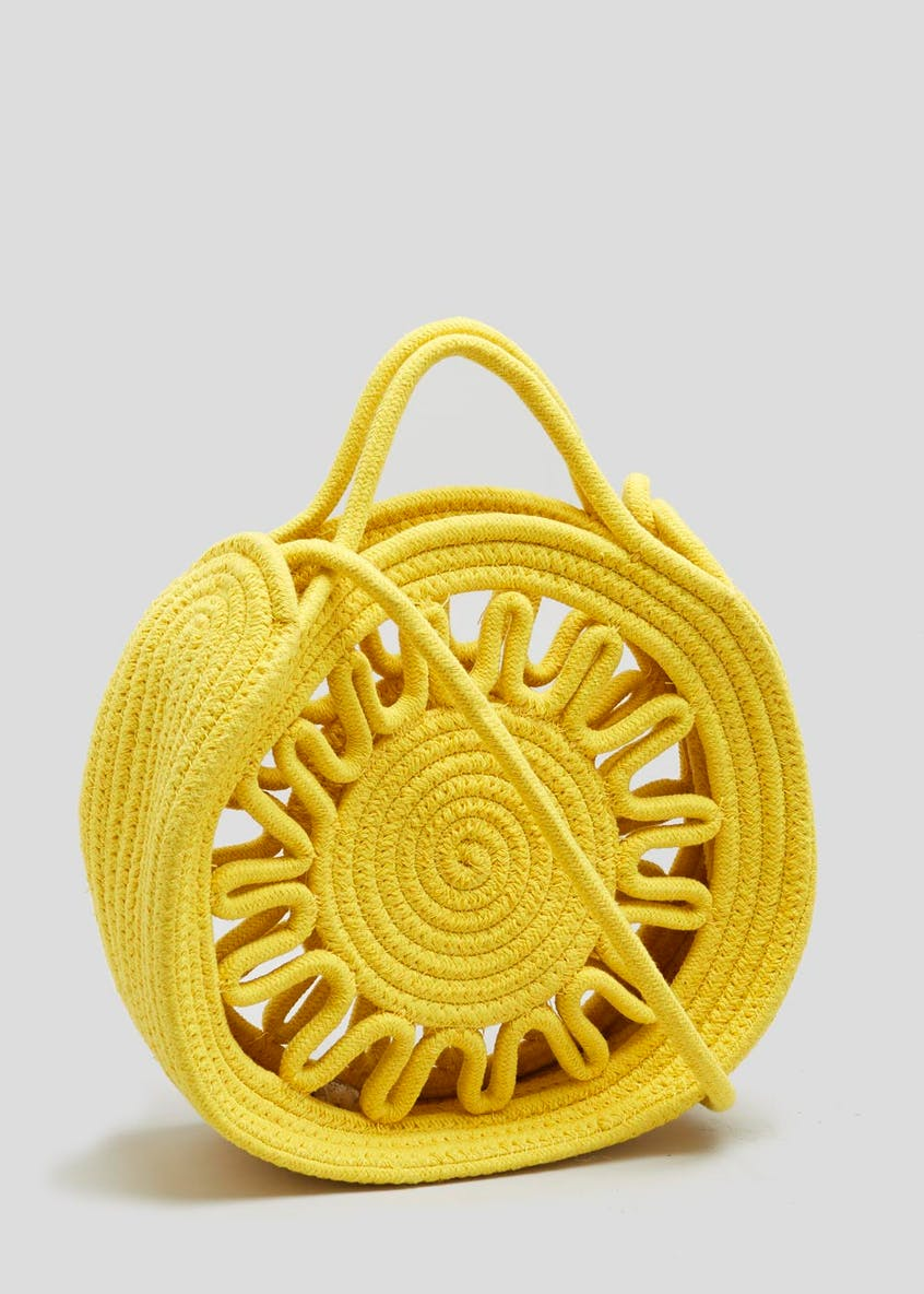 Rope Circle Cross-Body Bag