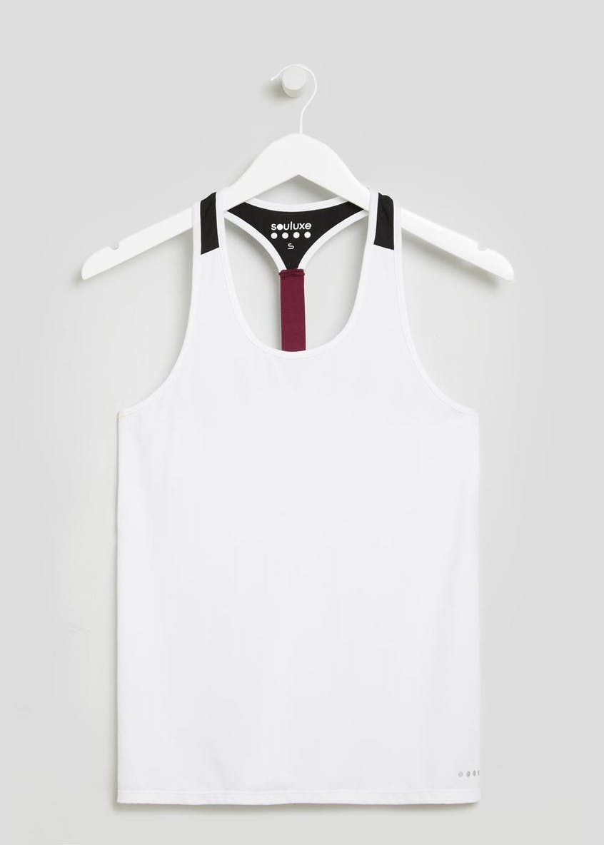 Souluxe Racer Back Gym Vest