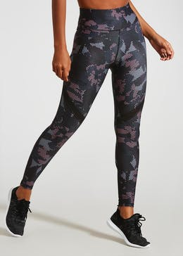 Souluxe Camo Floral Gym Leggings