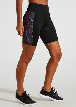 Souluxe Printed Cycling Shorts