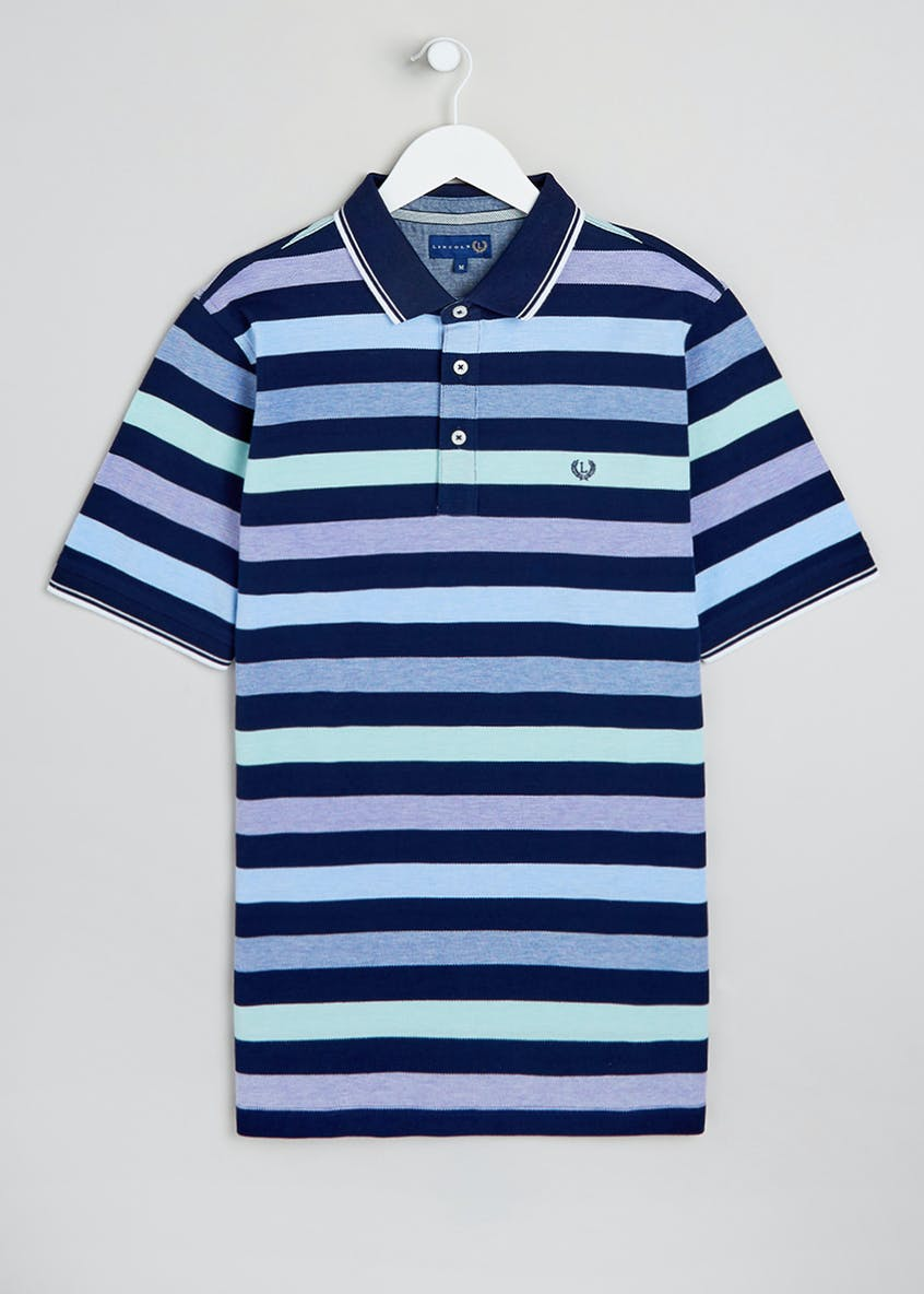 Lincoln Short Sleeve Oxford Polo Shirt