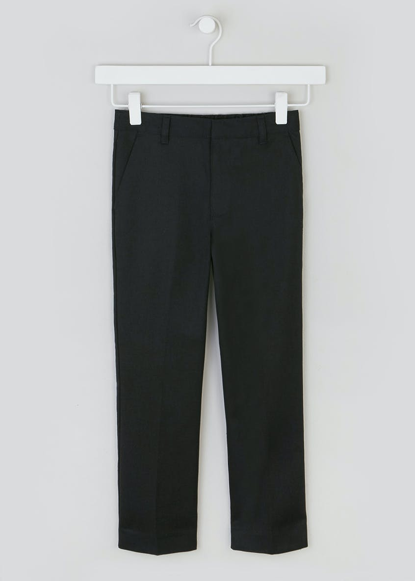 Boys Slim Fit School Trousers (3-13yrs)