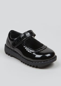 Girls Patent Mary Jane School Shoes (Younger 4-9)