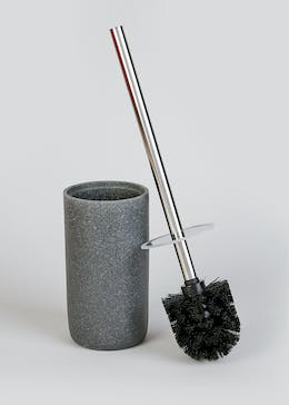 Sandstone Effect Toilet Brush & Holder