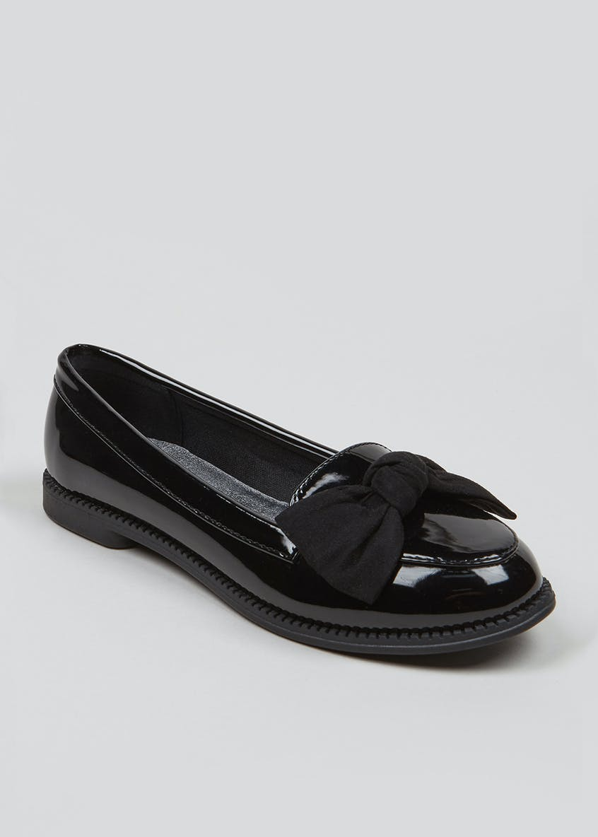 Girls Patent Penny Loafers (Younger 10-Older 5)