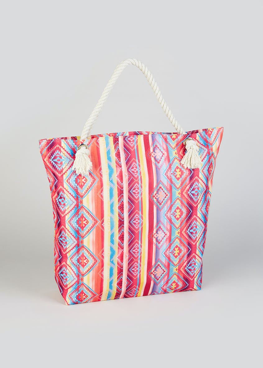 Aztec Rope Beach Bag