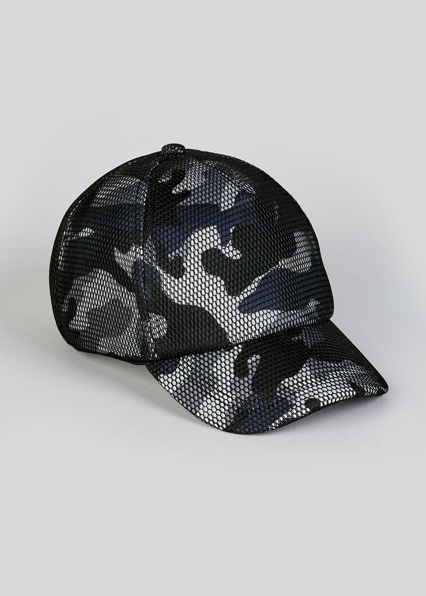 Kids Camo Mesh Cap (7-13yrs)
