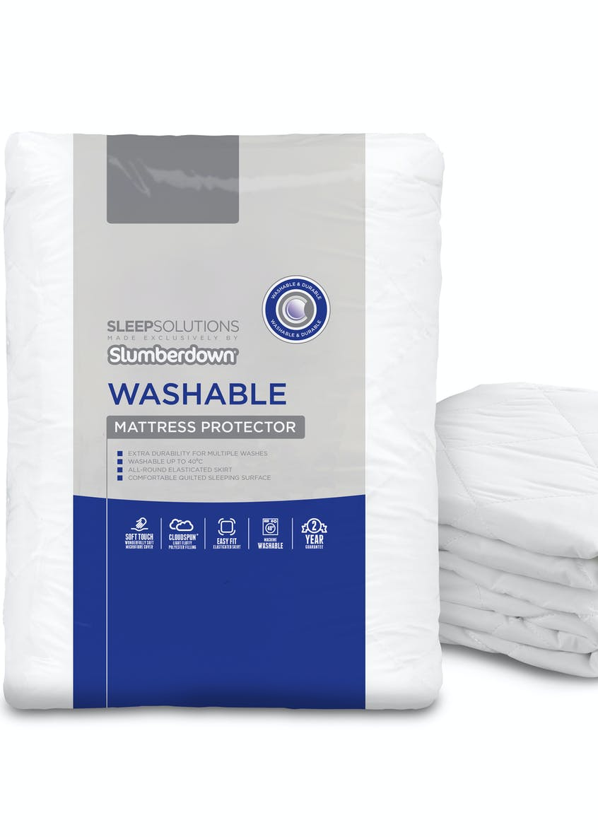 Slumberdown Washable Mattress Protector