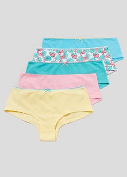 5 Pack Flamingo Short Knickers
