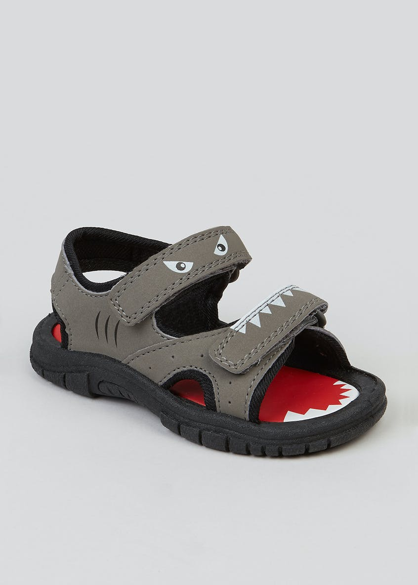 Kids Shark Adventure Sandals (Younger 4-9)