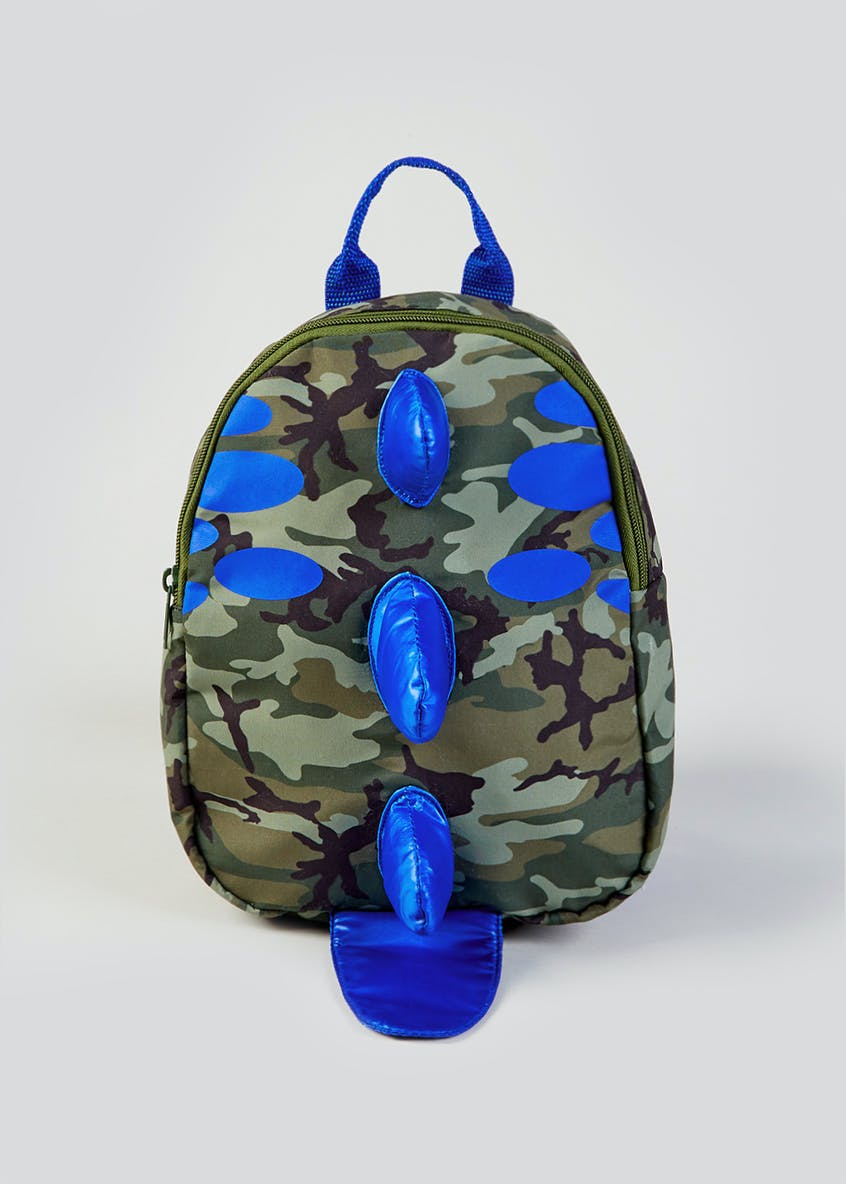 Kids 3D Dinosaur Camo Backpack
