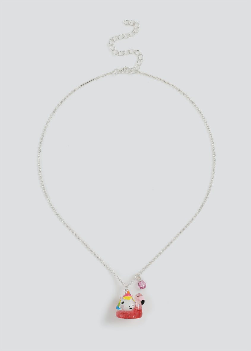 Girls Unicorn Collectable Necklace