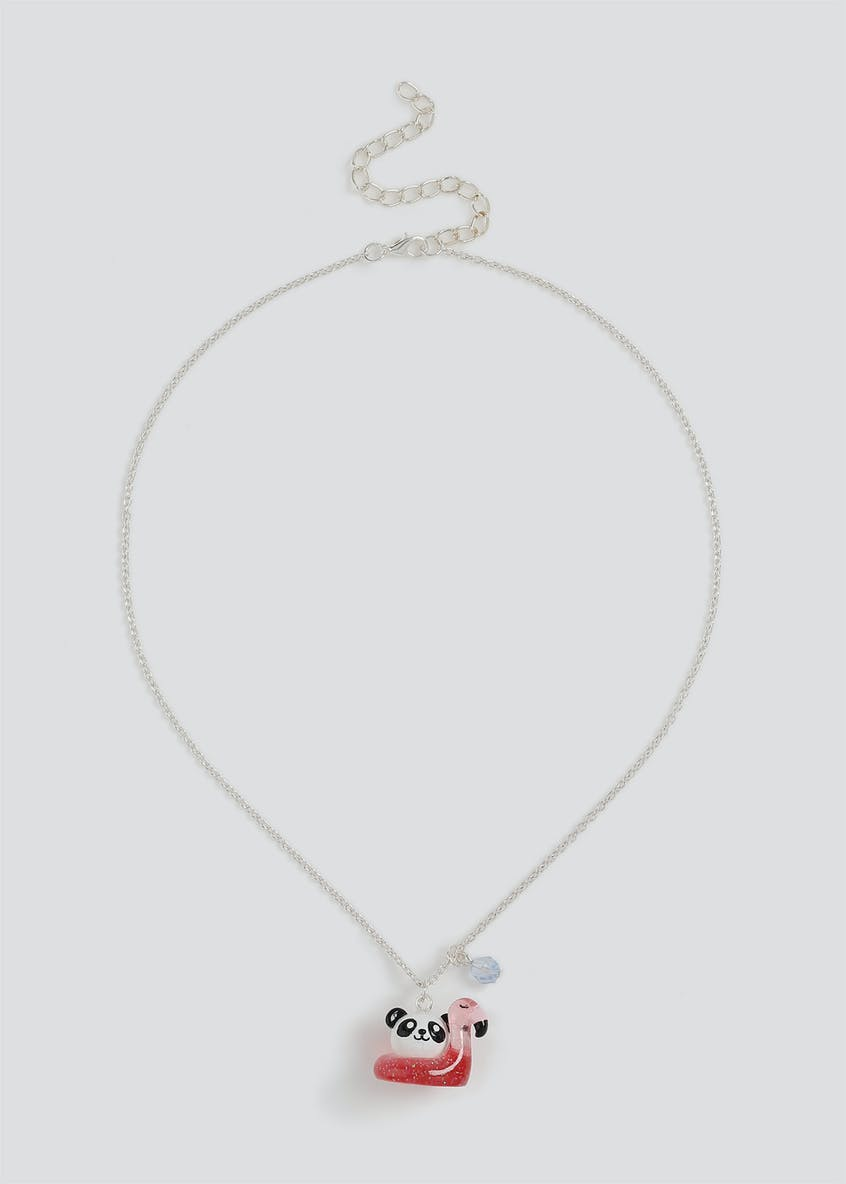 Girls Panda Collectable Necklace