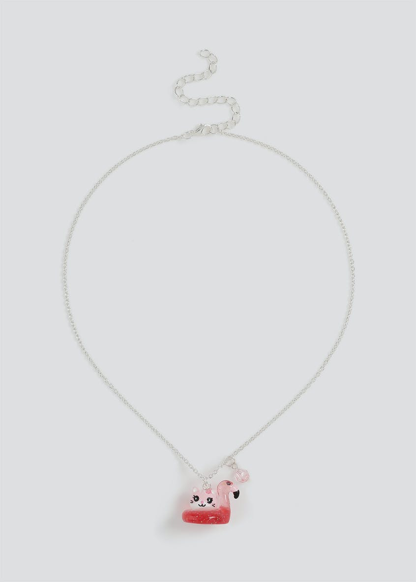 Girls Cat Collectable Necklace