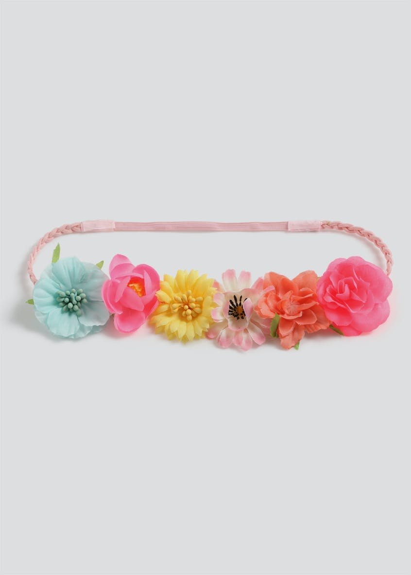 Girls Flower Garland