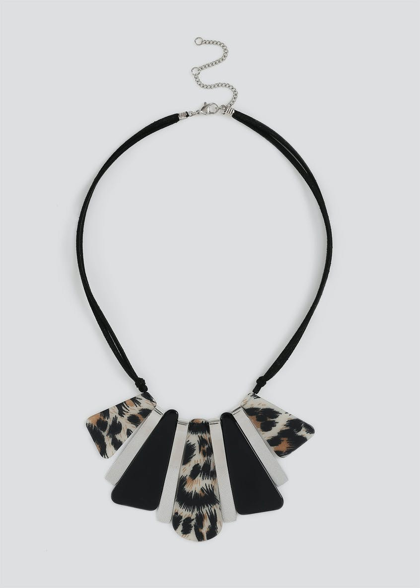 Statement Leopard Necklace