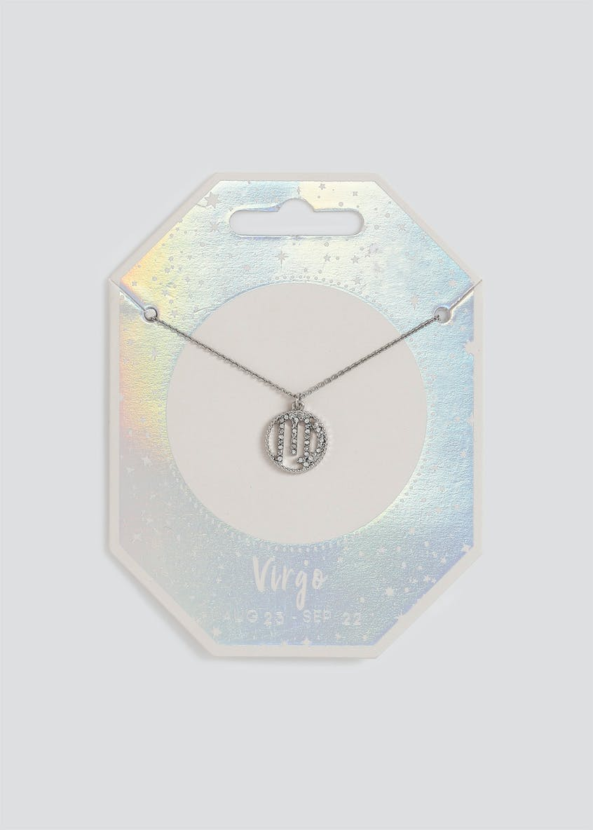 Virgo Horoscope Necklace