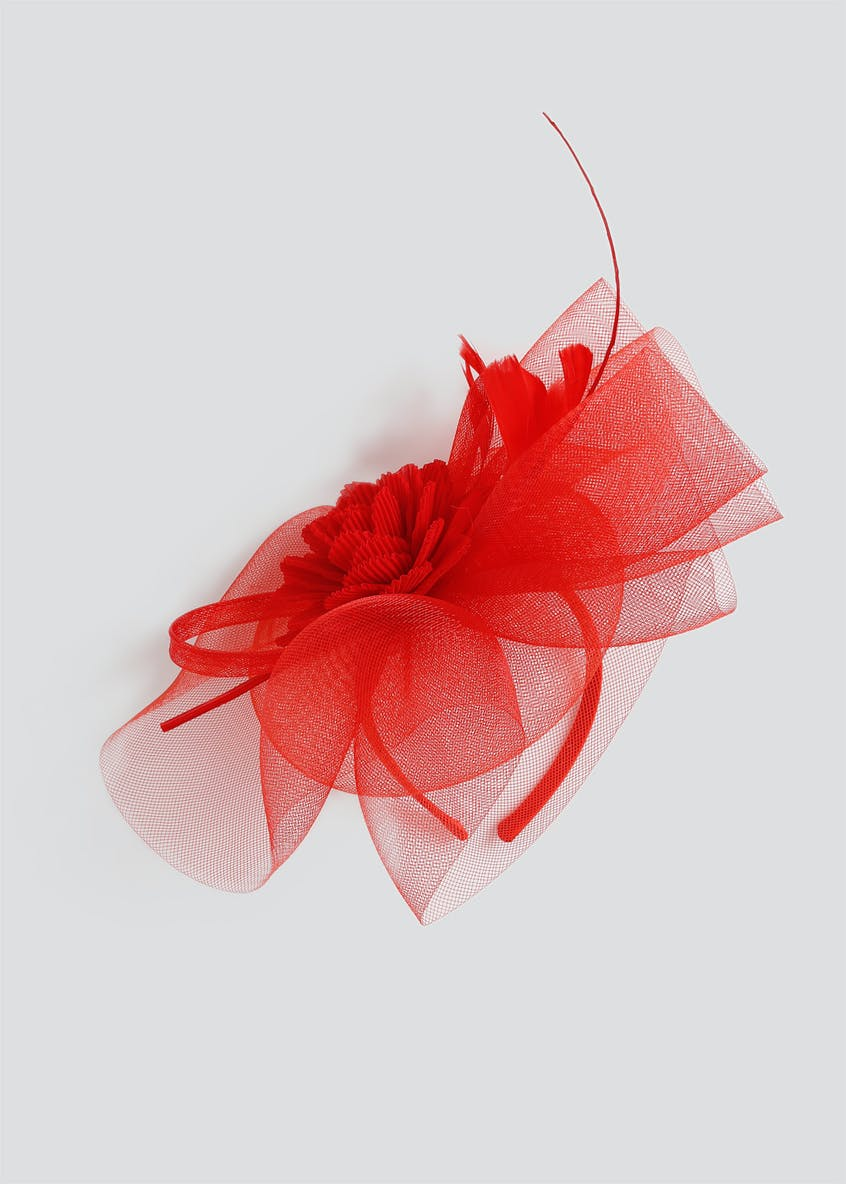Crinkle Flower Fascinator