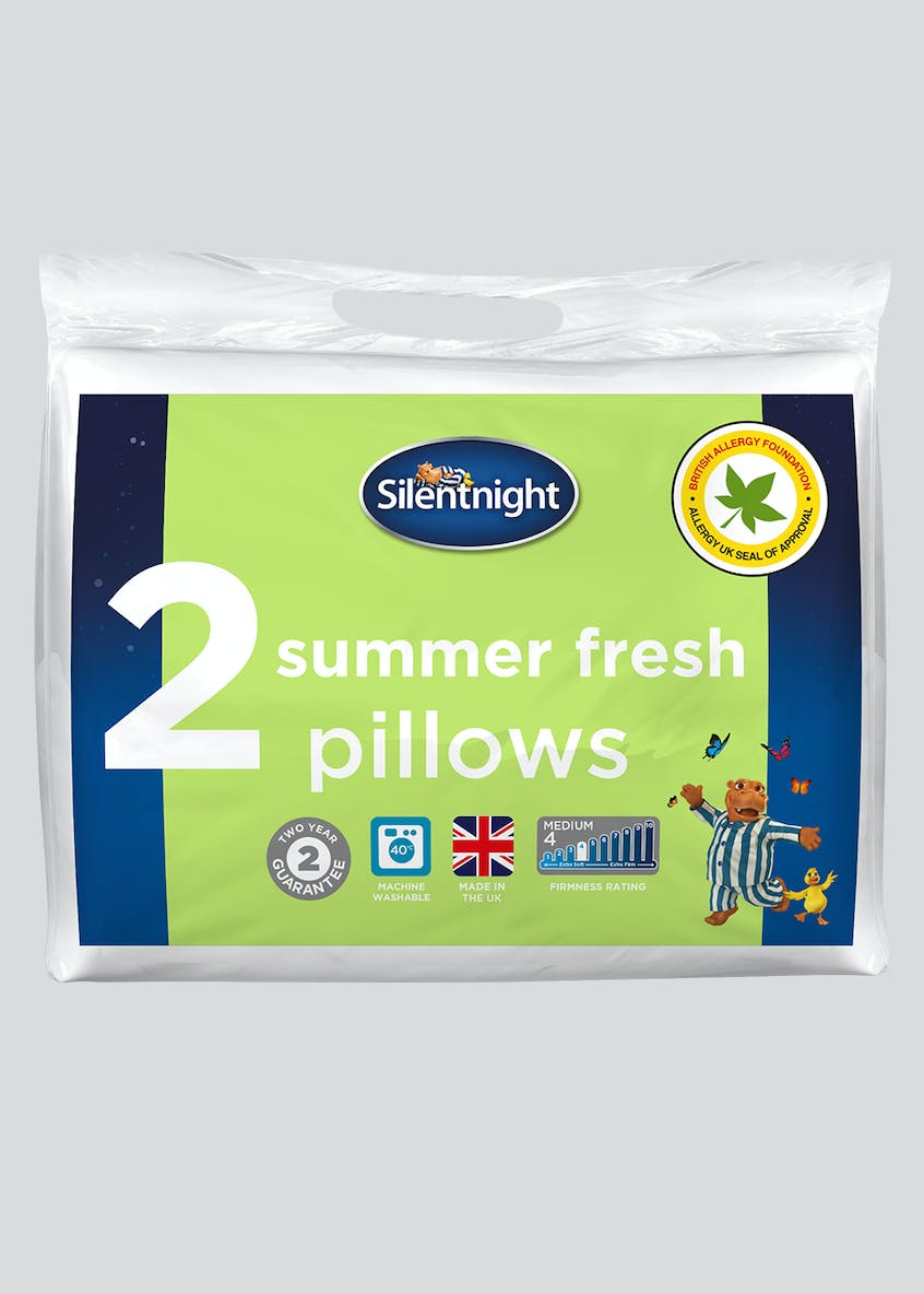 Silentnight Summer Fresh Pillow Pair