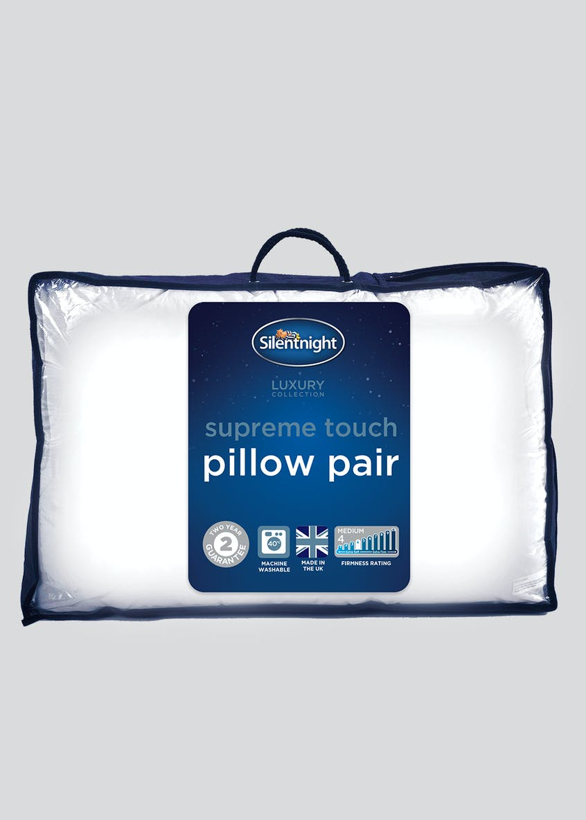 Silentnight Supreme Touch Pillow Pair