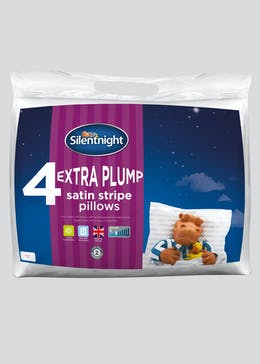 Silentnight 4 Extra Plump Pillows