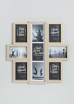 Multi Aperture Photo Frame (52cm x 43cm x 2cm)