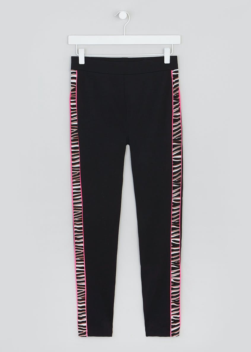 Neon Animal Print Co-Ord Leggings