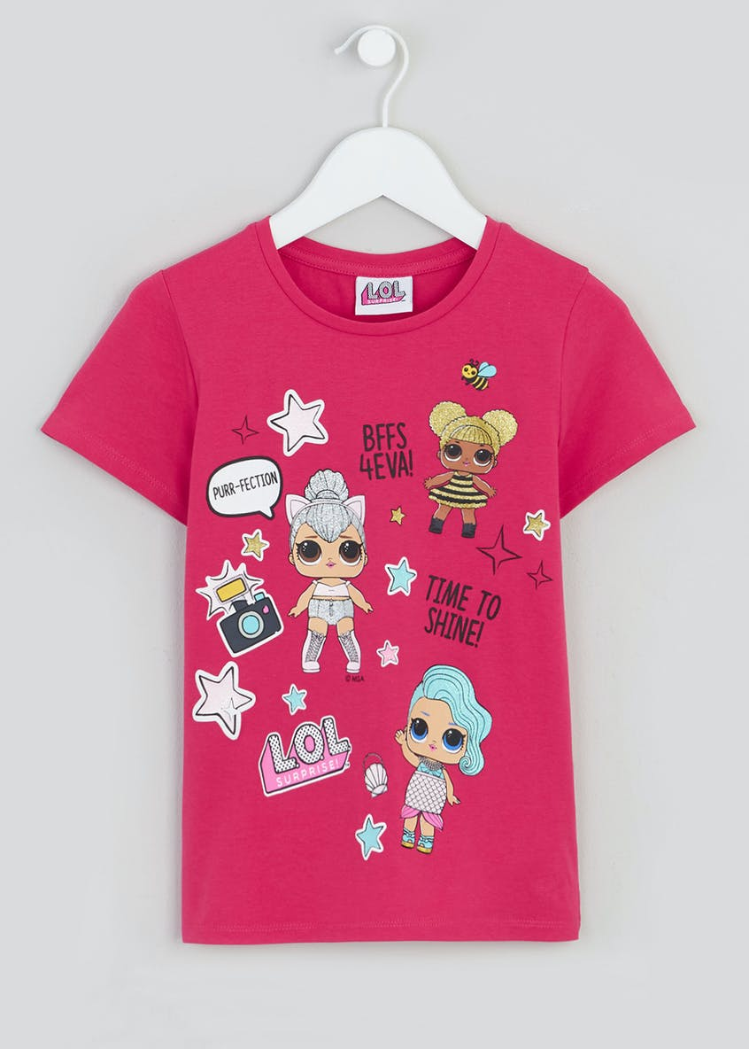 Kids L.O.L. Surprise Badge T-Shirt (4-11yrs)
