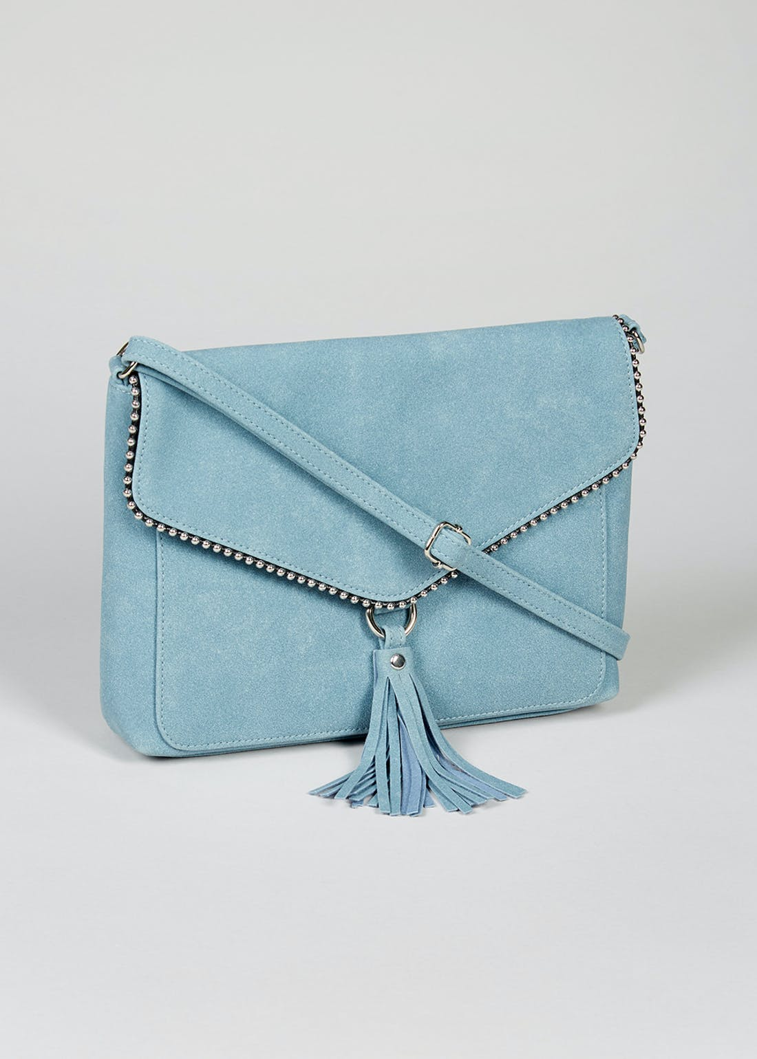 Tassel Envelope Cross-Body Bag