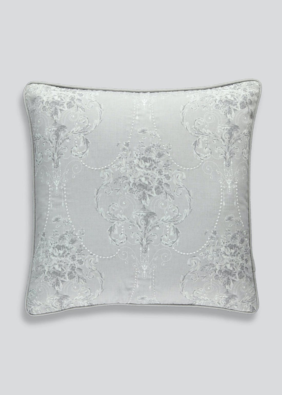 Embroidered Chandelier Cushion (46cm x 46cm)