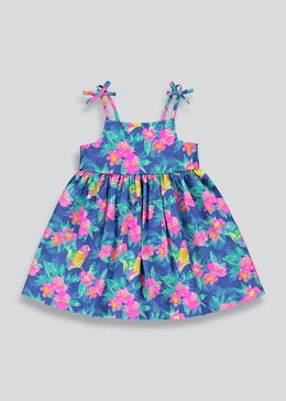 Girls Floral Strappy Sun Dress (9mths-6yrs)