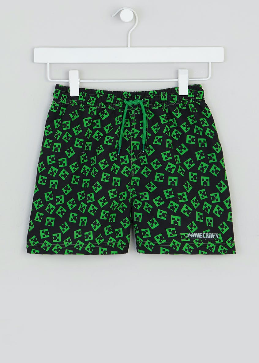 Boys Minecraft Swim Shorts (4-13yrs)