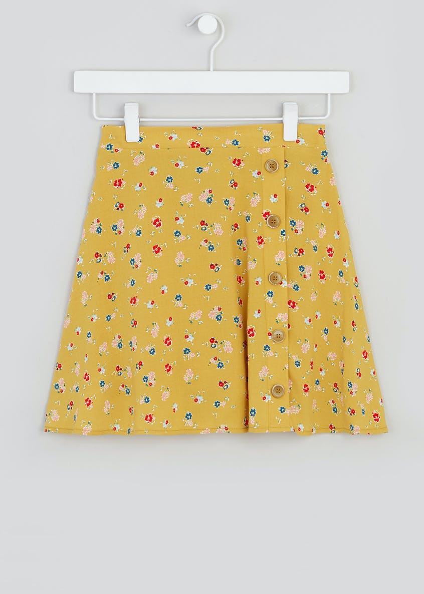 Girls Candy Couture Floral Flippy Skirt (9-16yrs)