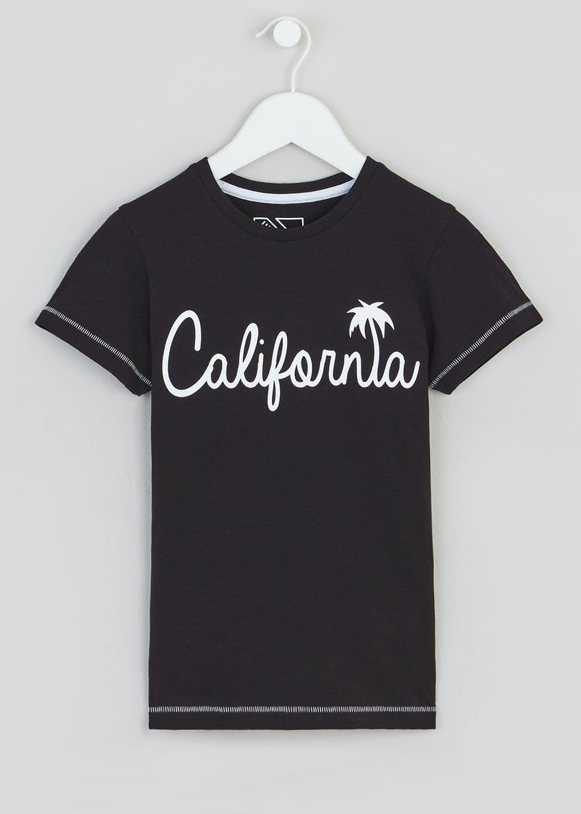 Kids California Slogan T-Shirt (4-13yrs)