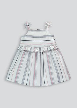 Girls Stripe Strappy Sun Dress (9mths-6yrs)