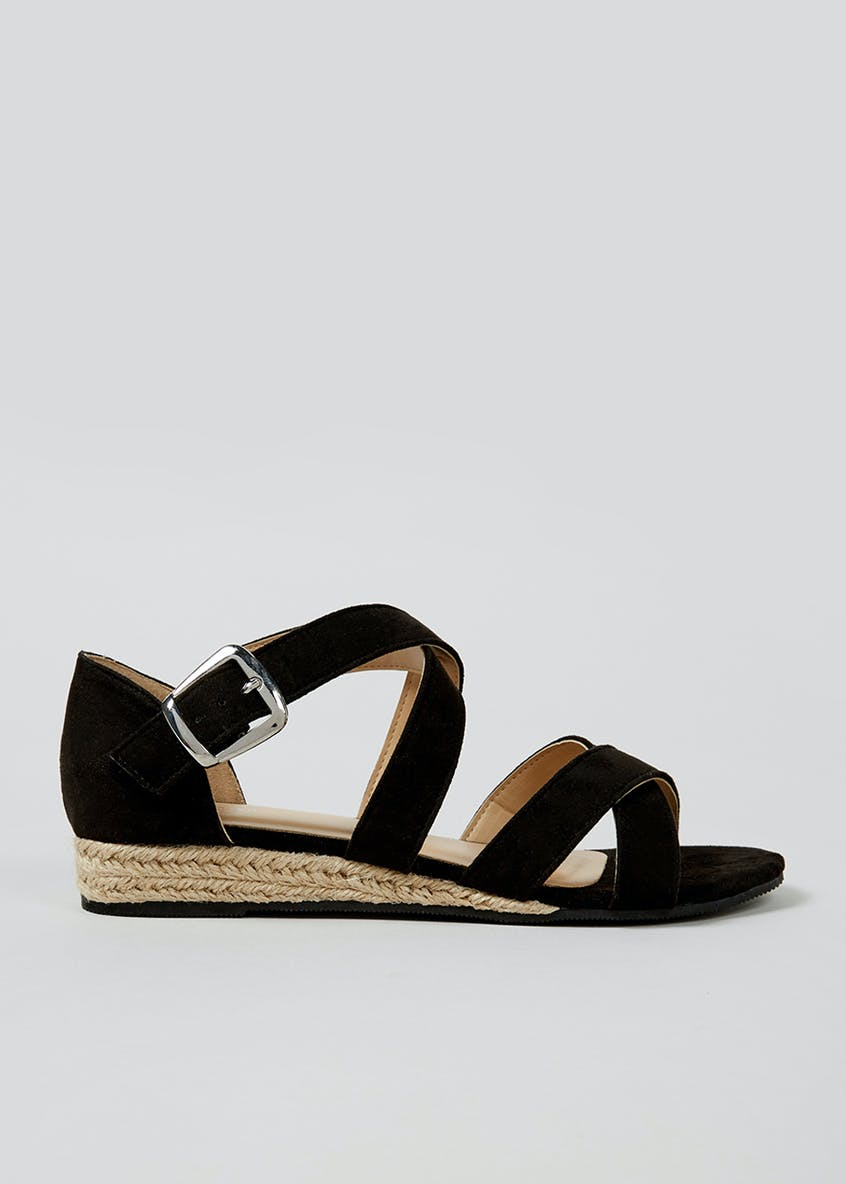 Espadrille Demi Wedges