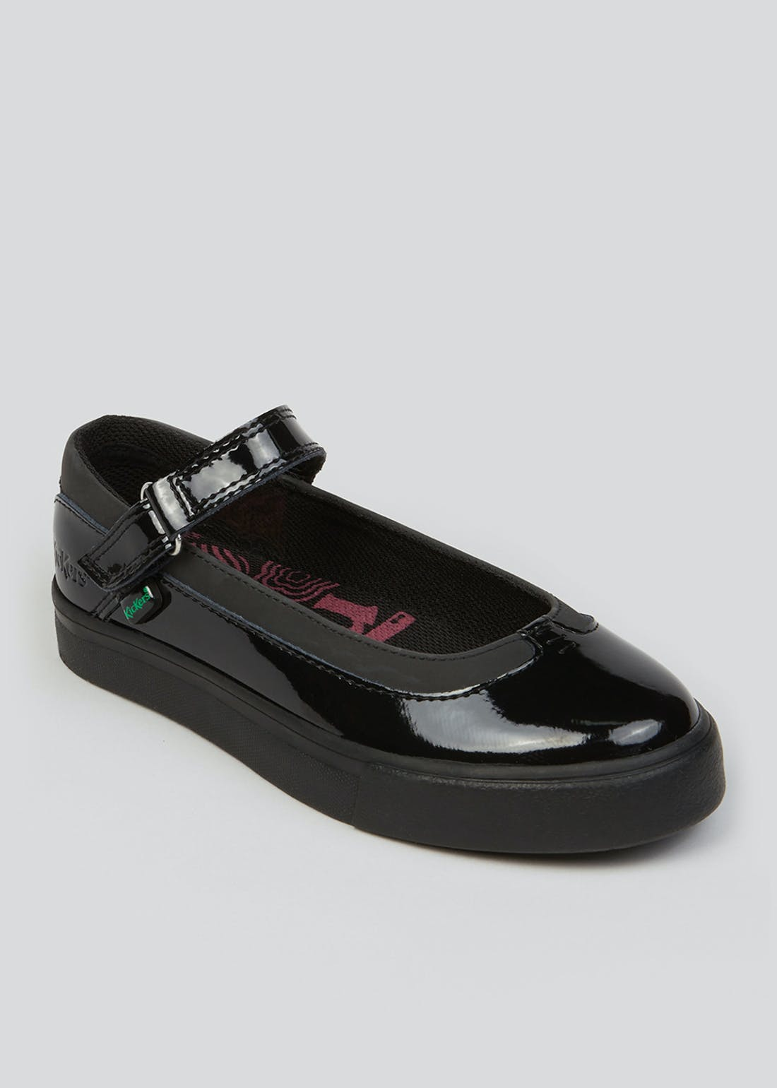 Girls Kickers Black Tovni Mary Jane Shoes (Younger 13-Older 2)