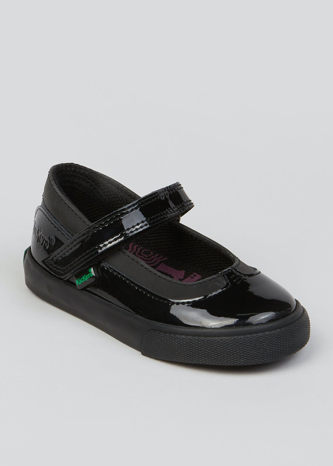 Girls Kickers Black Tovni Mary Jane Shoes (Younger 5-12)
