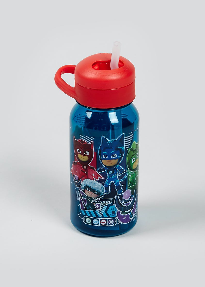 Kids PJ Masks Twist Top Water Bottle (17cm x 6cm)